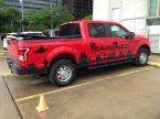 Marines Recruiting Ford F150 in Downtown Houston