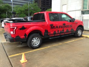 Marines Recruiting Ford F150 in Downtown Houston.jpg