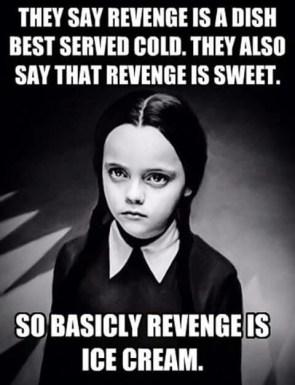 Revenge From Wednesday