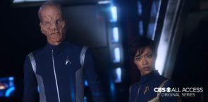 Star Trek Discovery Crew has bad facial expressions