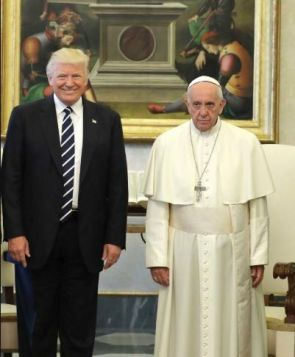 The Anti-christ meets the Pope