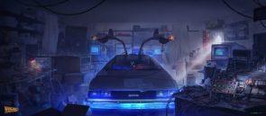 Time Machine ini the garage