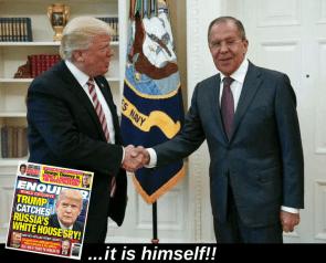 Trump is the Spy