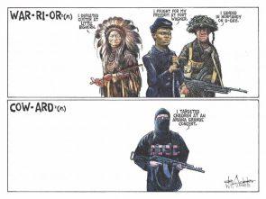 Warrior vs Coward