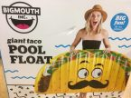 big mouth giant taco pool float