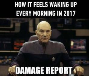 how it feels waking up every morning in 2017