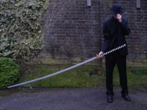 large sword gentleman