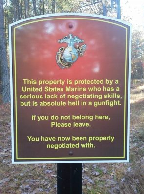 protected by a USMC