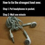 strongest knot