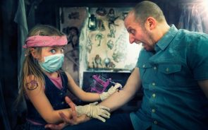 young tattoo artist