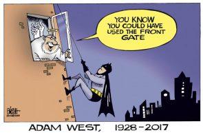 Adam West, 1928-2017