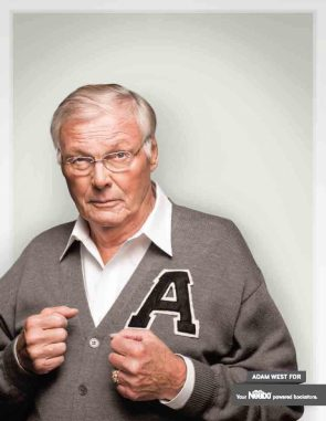 Adam West – Fighting Headshot