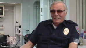 Adam West was a cop