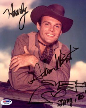 Adam West was a cowboy