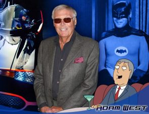 Adam West was animated