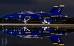 Blue Angels Refelection