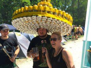 Camping Beer Hat