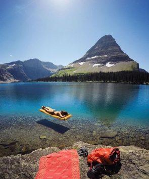 Hidden Lake in Montana