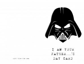 I AM your father    's day card