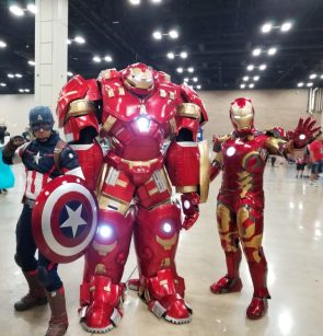 Iron man Cosplayers