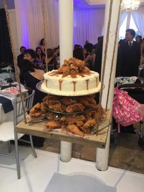 KFC Wedding Cake