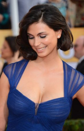Morena Baccarin in blue