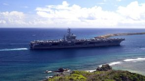 Nuclear Aircraft Carrier Running Aground