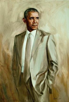 Official Portrait of the Greatest President of All Time
