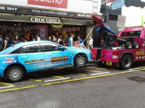 Spider-man Towing Company
