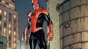 Superior Spider-man and his spidey buddies