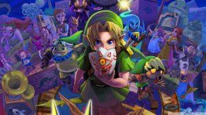 The Major Mask of Zelda's Link