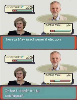 Theresa May used general eleciton