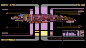 USS Defiant Schematics