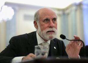 Vint Cerf, one of the godfathers of the Internet