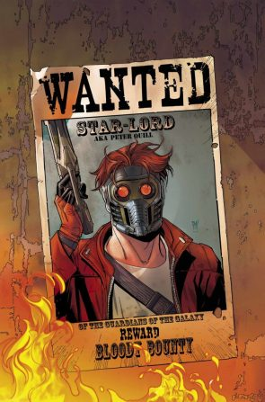 Wanted Star Lord