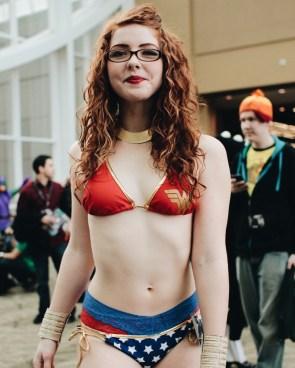 Wonder Woman in a Bikini
