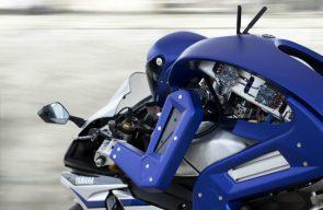 Yamaha Motorcycle Robot