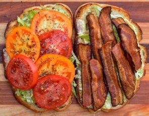 a very large BLT