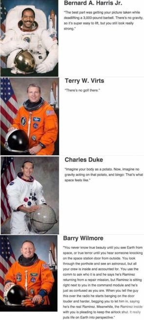 astronaut quotes about space