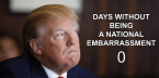 days without being a national embarrassment