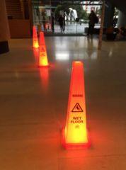light up caution cones