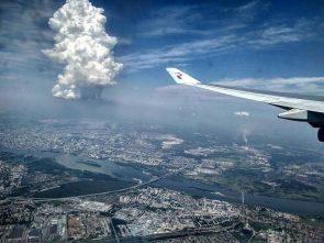 massive exploding city