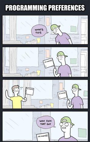 programming preferences