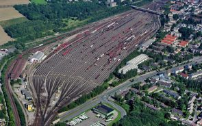 train farm