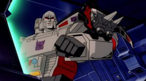 Megatron and Laserbeak
