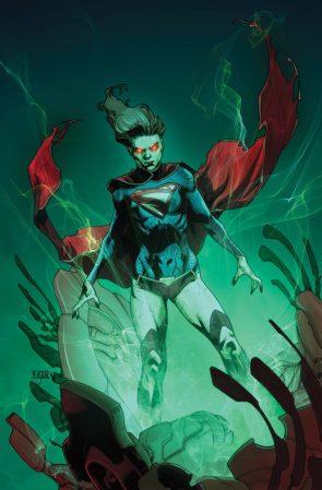 Supergirl Looking Green