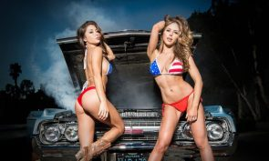 American Flag Cosplay – 4th of July – NSFW – Arianny Celeste – Brittany Palmer 17 – Asstastic – Bikini Photoshoot – Shelf Porn