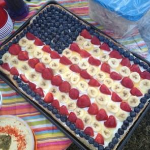 Banana and Berry pancake