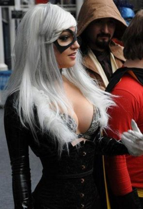 Black Cat cosplay by ami nakajima