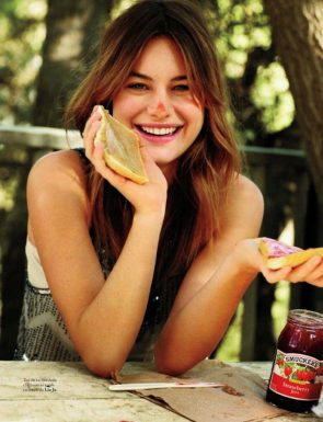 Camille Rowe doesn't understand sandwiches